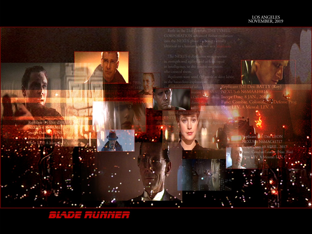 BladeZone: The Online Blade Runner Fan Club
