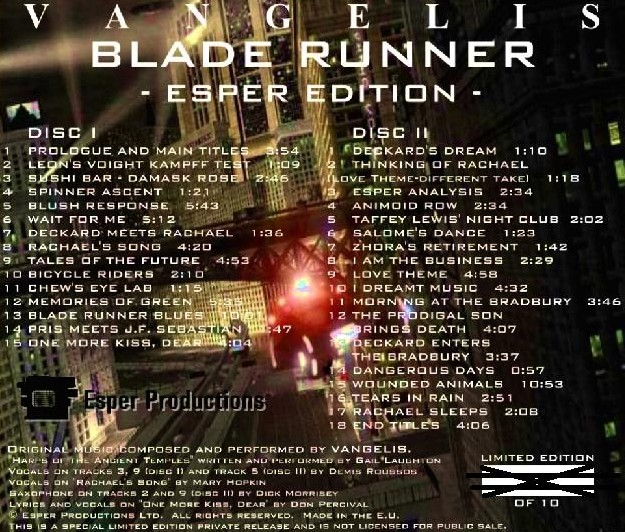 Blade runner love quotes